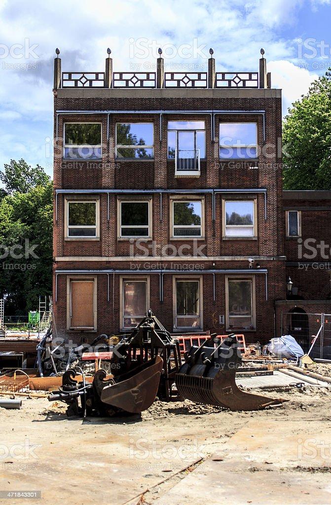 Reconstruction royalty-free stock photo