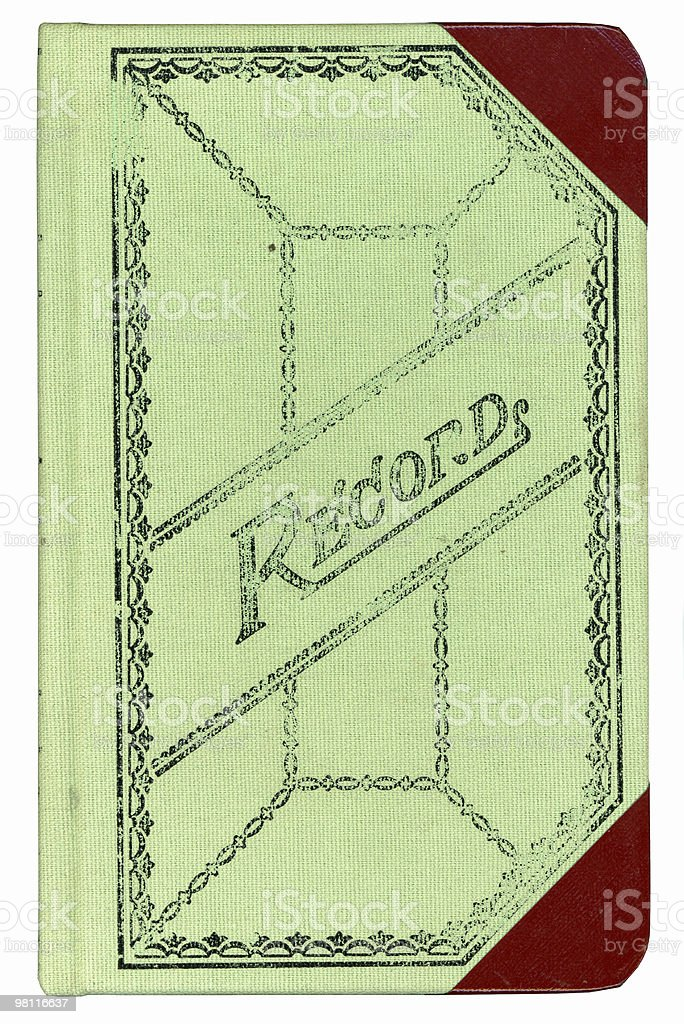 record book front royalty-free stock photo