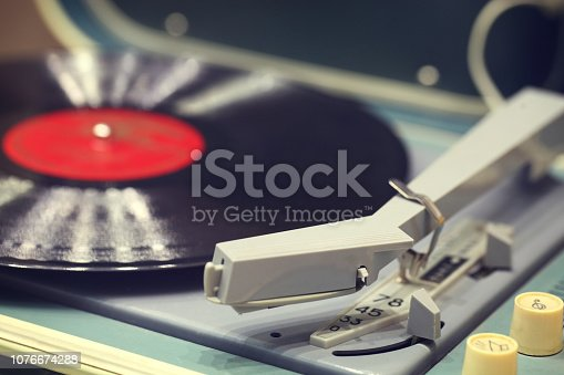 Old Record Player.