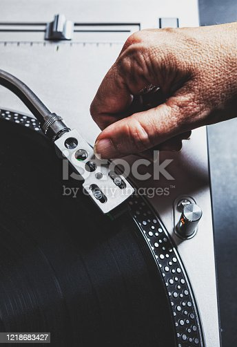 Record Player. Turntable