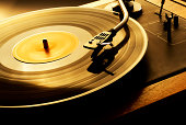 istock Record Spinning on Turn Table 108195157
