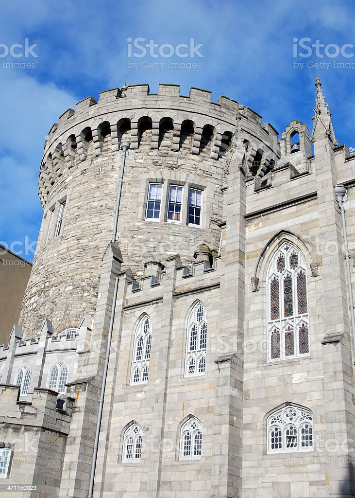 Record Tower at Dublin Castle royalty-free stock photo