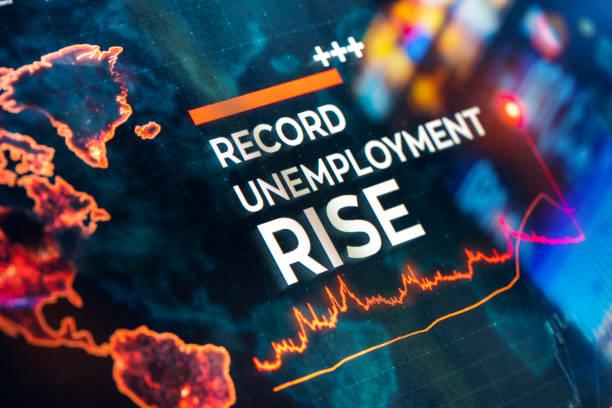 Rekord-Arbeitslosigkeit steigt Detaillierte Statistiken mit Diagrammen und Diagrammen – Foto