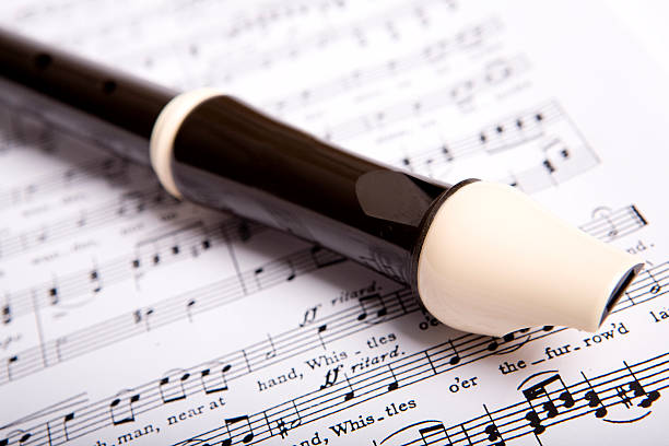 recorder for children - recorder stock photos and pictures