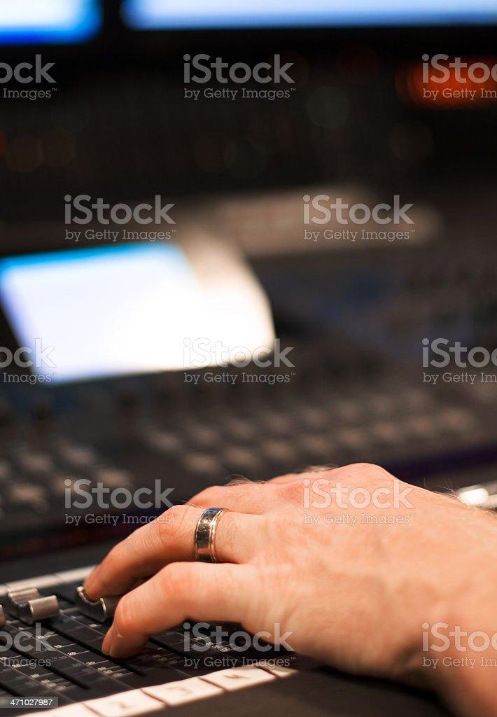 Recording Mix royalty-free stock photo