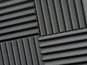 Recording studio acoustic tiles