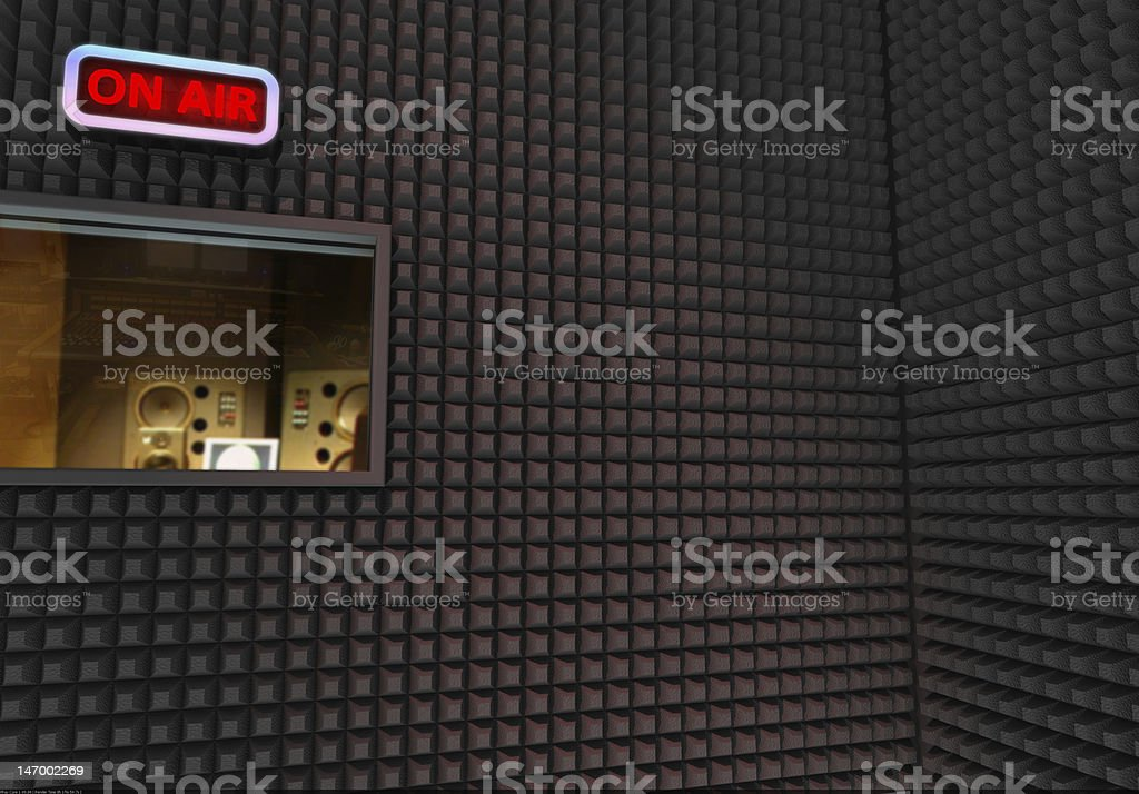 recording studio royalty-free stock photo