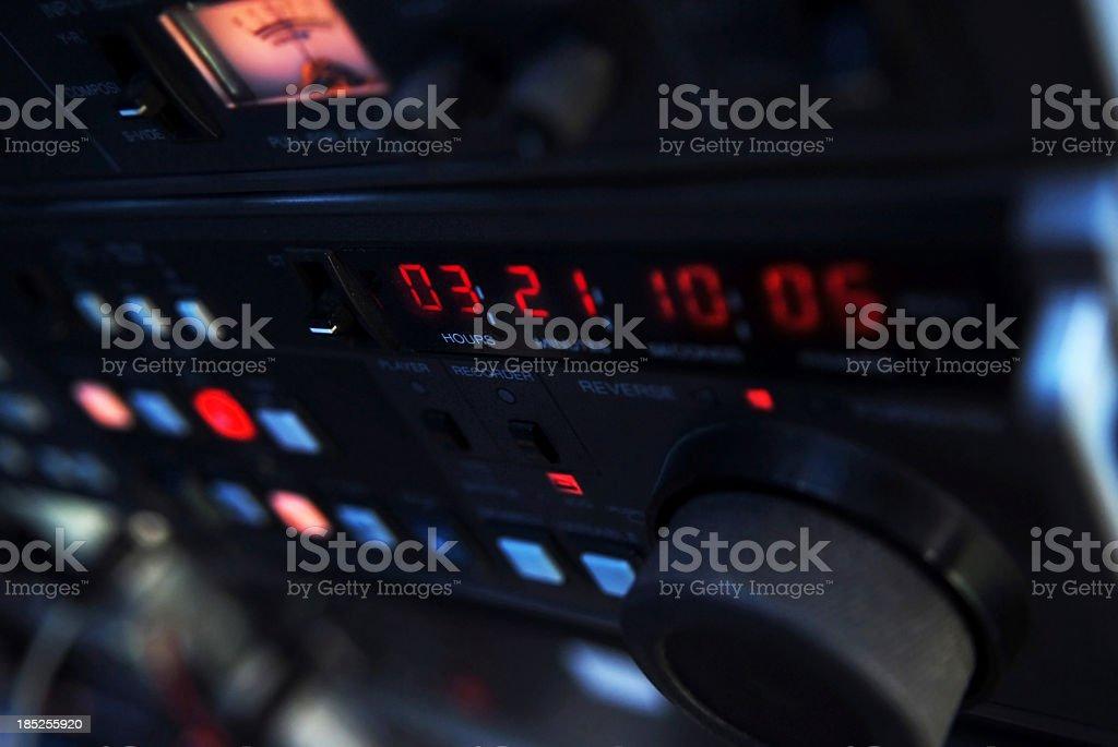 Recording studio royalty-free stock photo