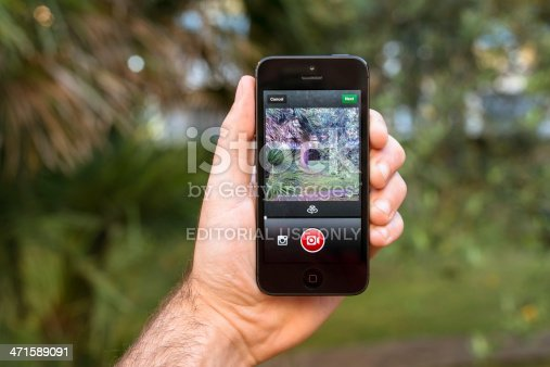 599114758 istock photo recording video with instagram app on iphone 5 471589091