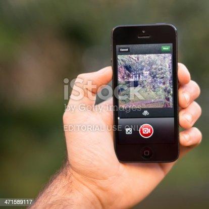 599114758 istock photo recording video with instagram app on iphone 5 471589117