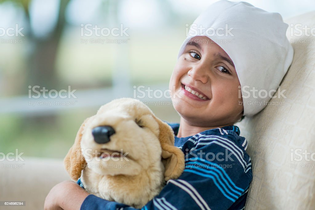 Recovering from Cancer stock photo