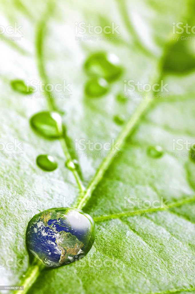 Recovery - earth concept royalty-free stock photo