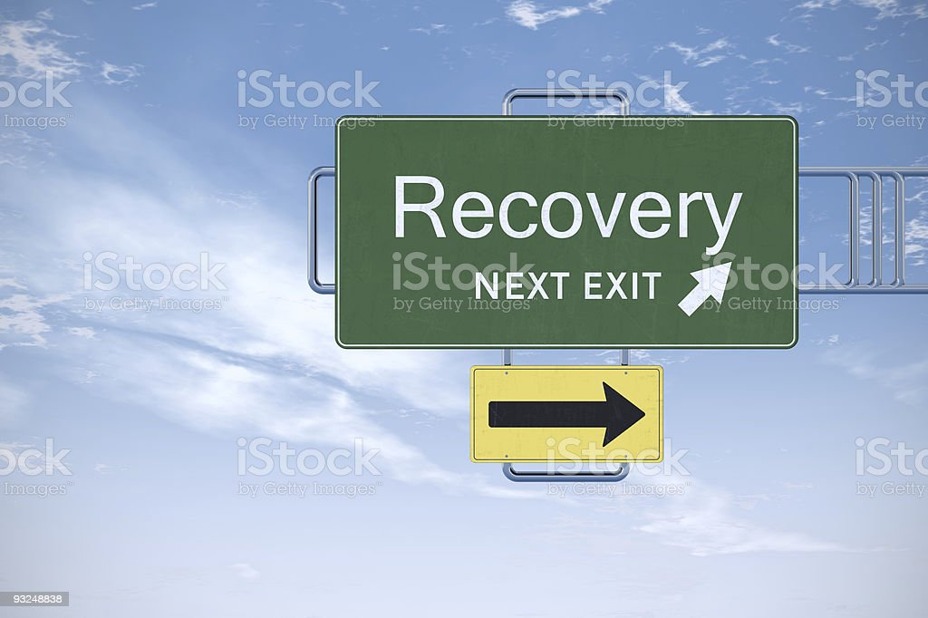 Recovery royalty-free stock photo
