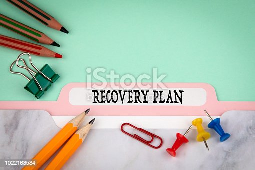 istock Recovery Plan, business and marketing concept 1022163584