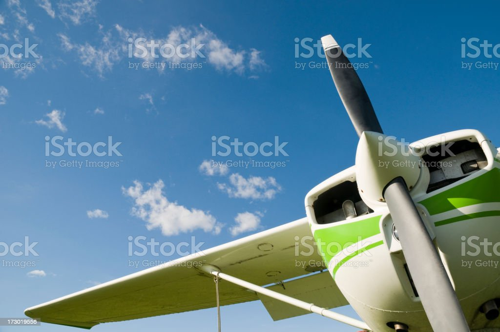 Recreation airplane royalty-free stock photo