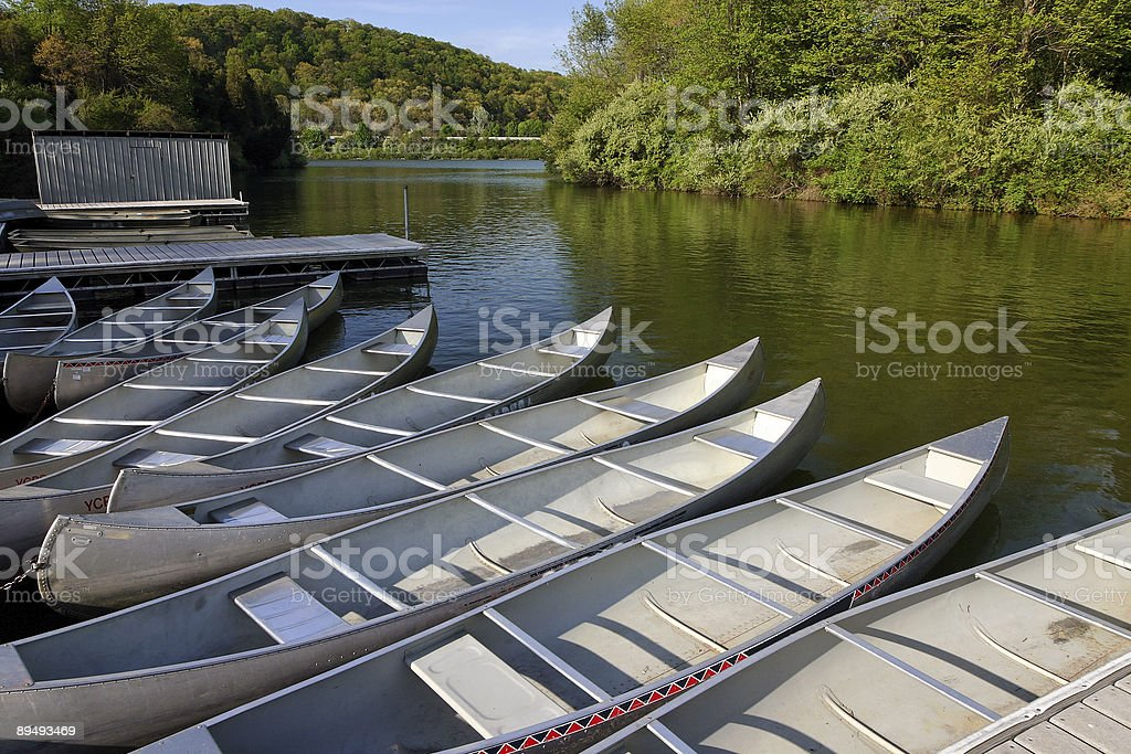 Recreational Boats royalty-free stock photo