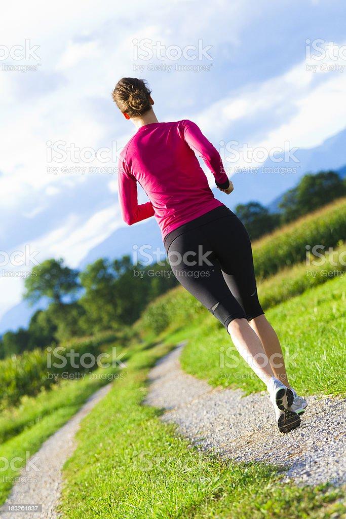recreational exercising royalty-free stock photo