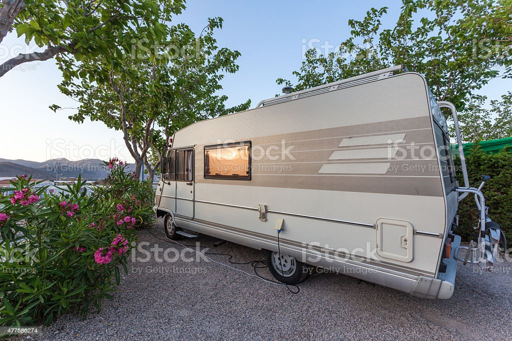 Recreational Vehicle stock photo