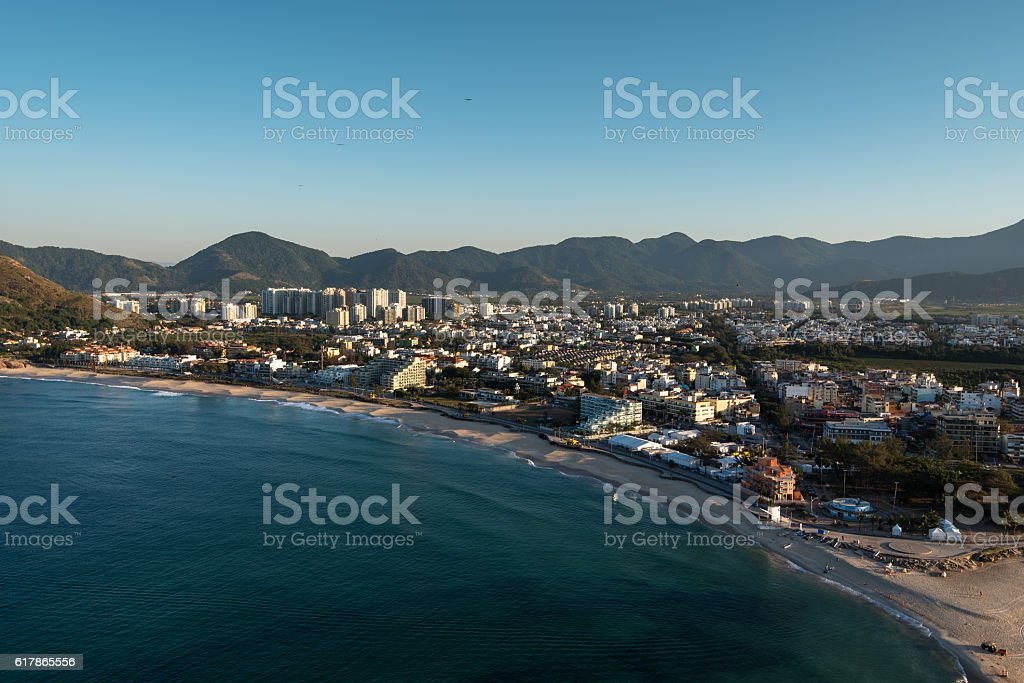 Recreio Region in Rio stock photo