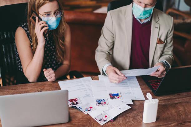Personalrekrutierung neuer Mitarbeiter, COVID-19-Pandemie – Foto