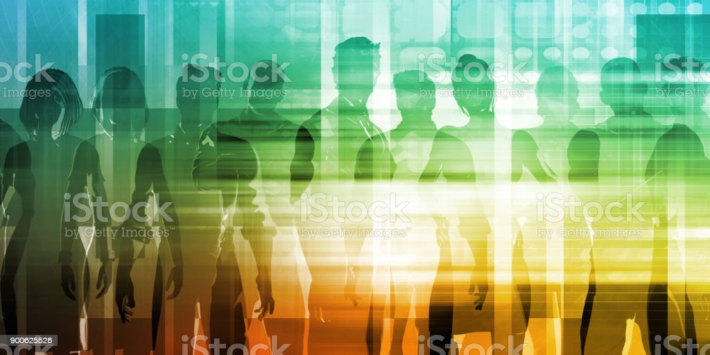 Recruitment Agency stock photo
