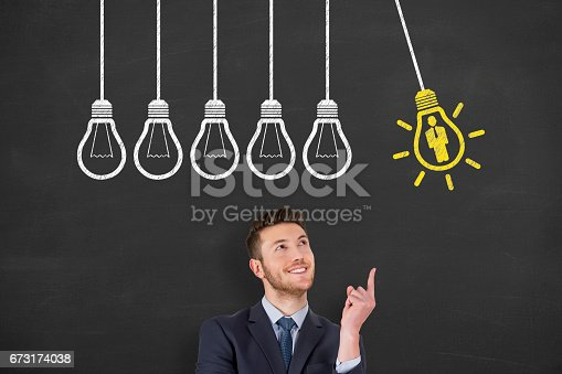 493338692istockphoto Recruitment Concepts on Chalkboard Background 673174038