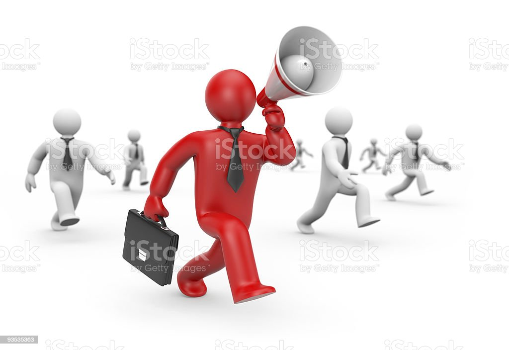 Recruitment of workers. Business concept royalty-free stock photo