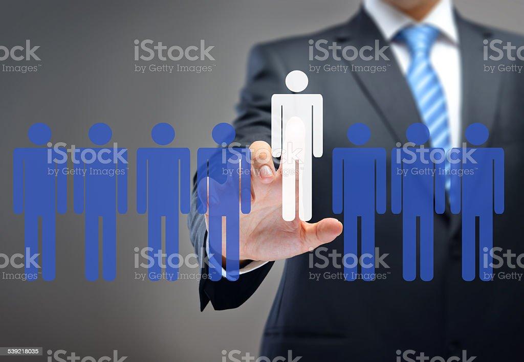 Recruitment stock photo