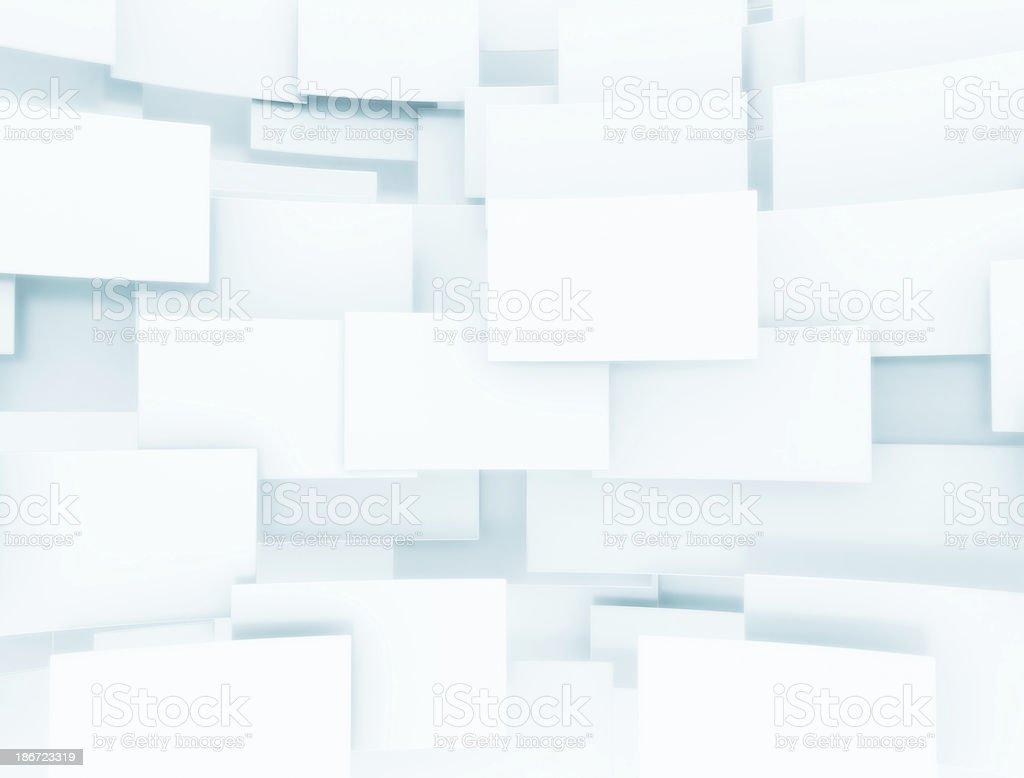 3D rectangles stock photo