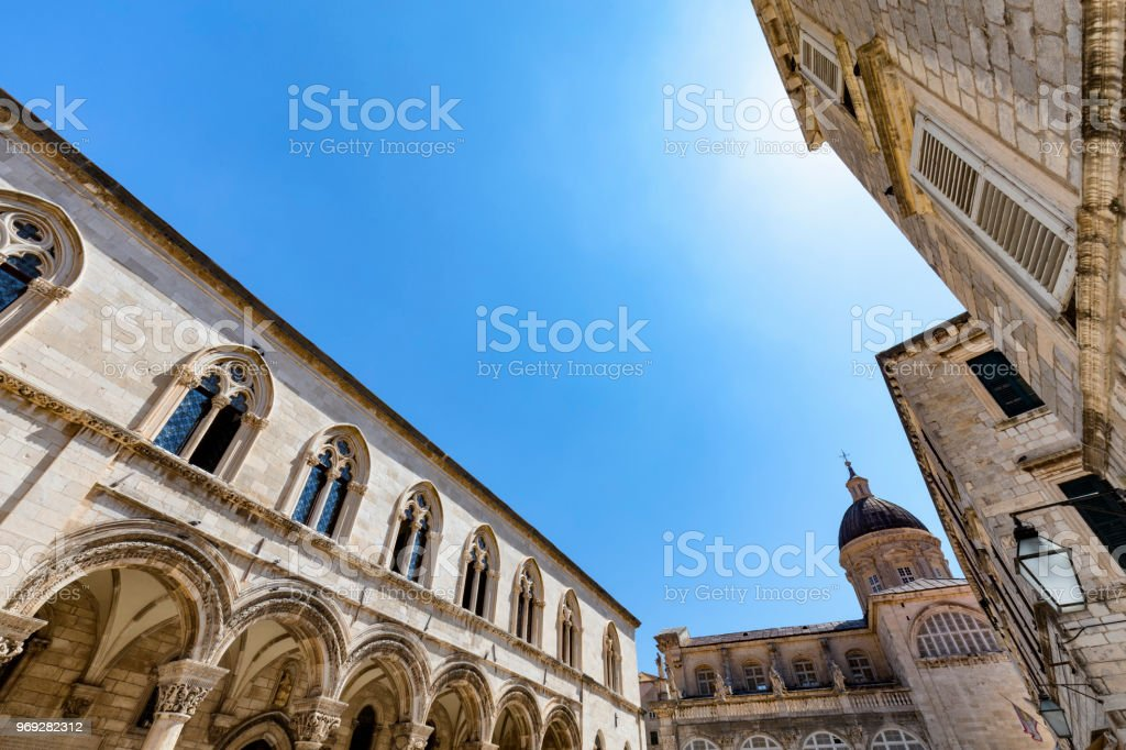 Rector's Palace stock photo