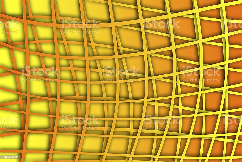 recurrent curved square pattern, wallpaper, background. royalty-free stock photo
