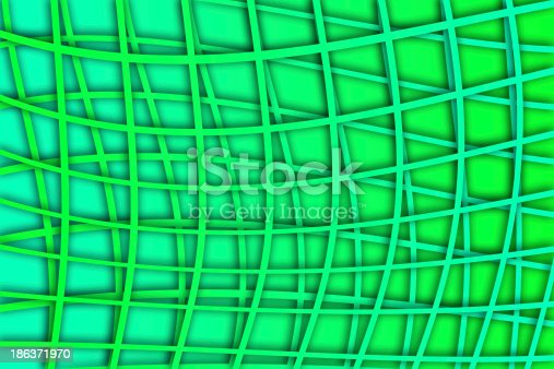 1176496357 istock photo recurrent curved square pattern, wallpaper, background. 186371970