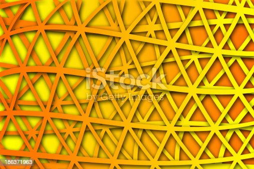 1176496357 istock photo recurrent curved triangular pattern, wallpaper, background. 186371963