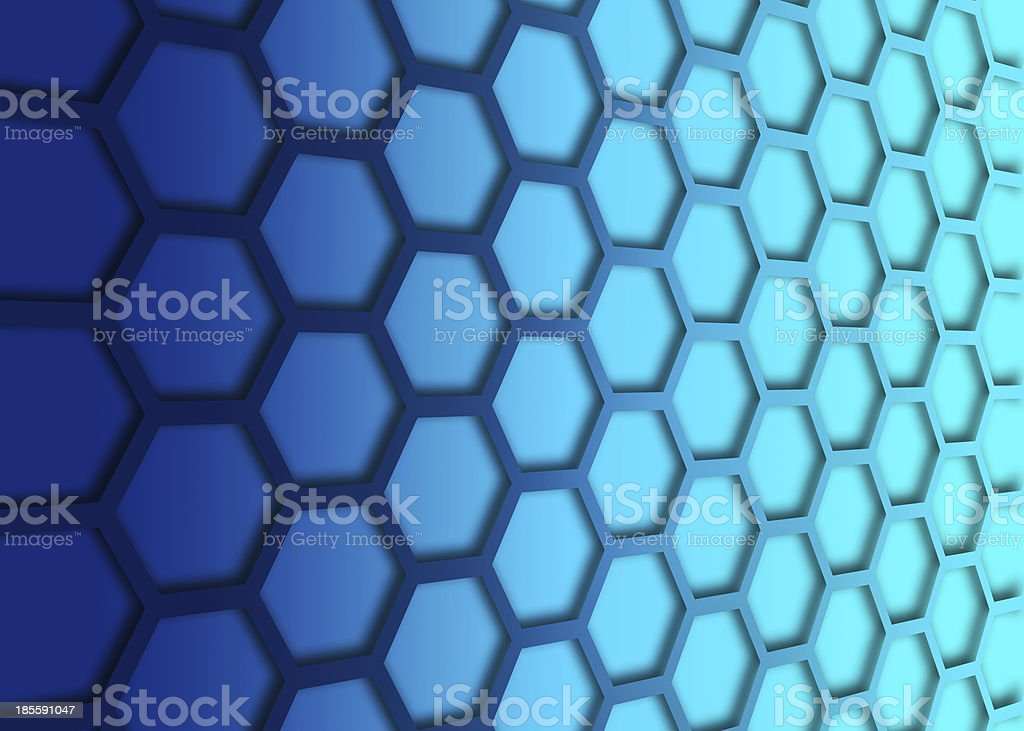 recurrent hexagonal wallpaper, background. royalty-free stock photo