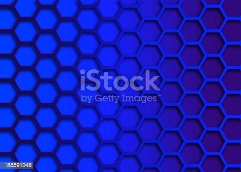 1176496357 istock photo recurrent hexagonal wallpaper, background. 185591048