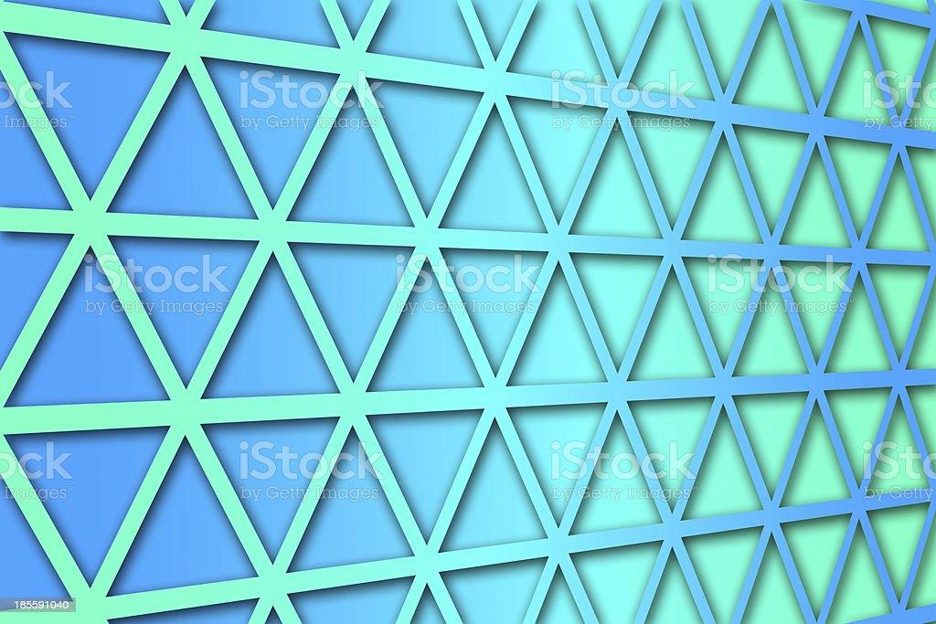 recurrent triangular pattern, wallpaper, background. royalty-free stock photo