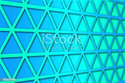 1176496357 istock photo recurrent triangular pattern, wallpaper, background. 185591040