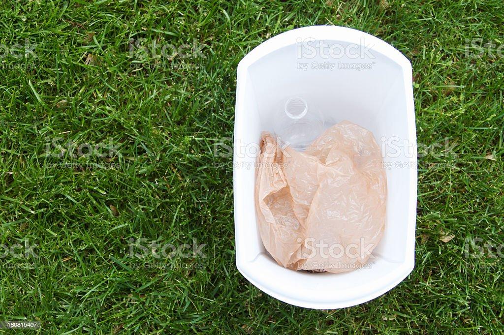 Recycing Plastic stock photo
