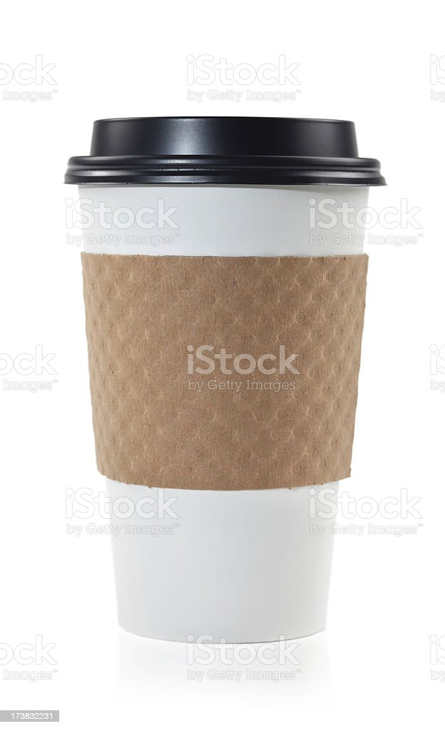 recyclable coffee cup royalty-free stock photo