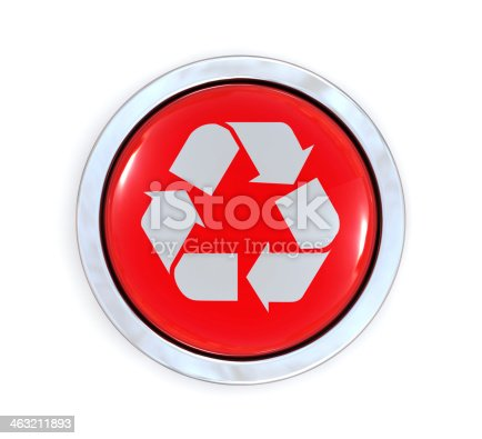 675796650 istock photo Recycle Button 463211893