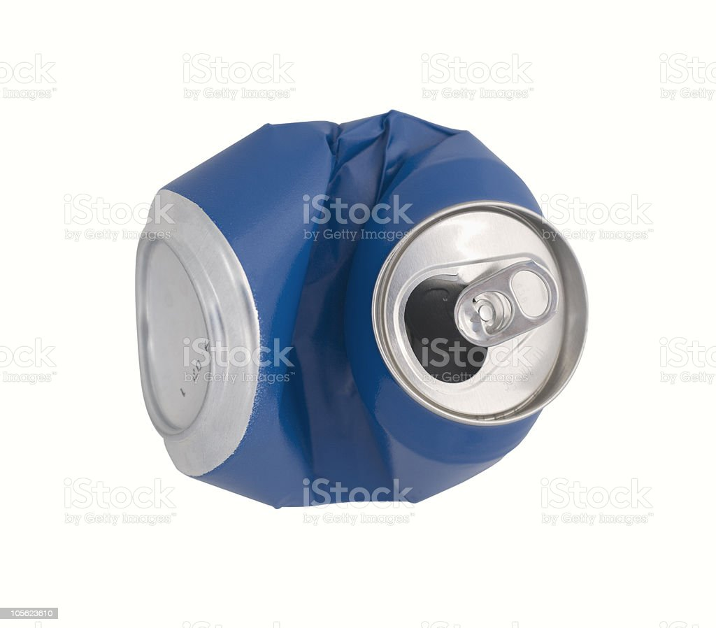 Recycle can royalty-free stock photo