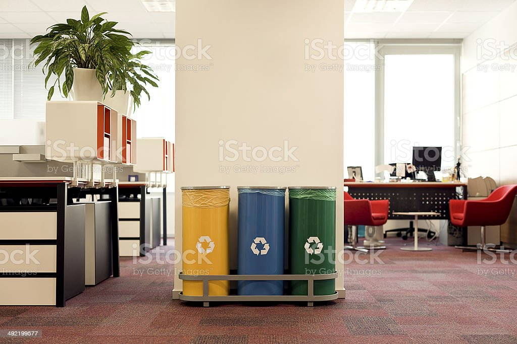 Recycle Can stock photo