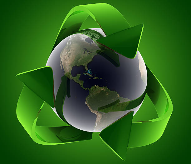 recycle concept - bioremediation stock photos and pictures