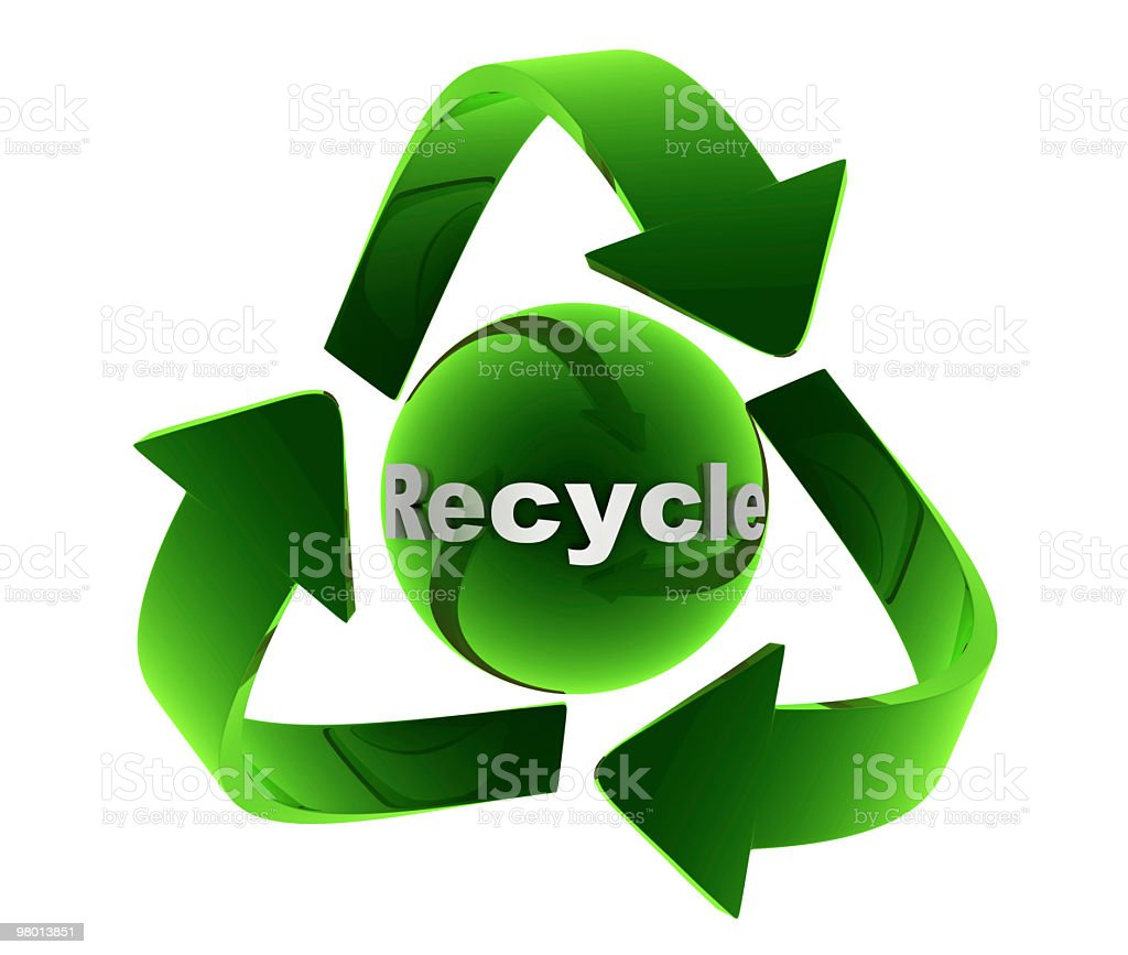 Recycle Concept royalty free stockfoto