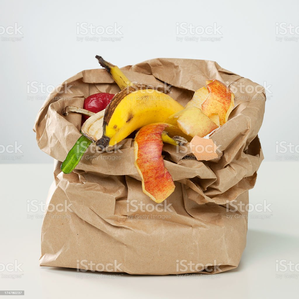 Recycle Concept Series - Organic Waste Recycle Concept Series - Gray,  Organic Waste Concepts Stock Photo