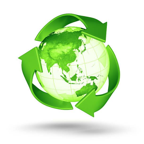 Recycling Welt-Asiatisch Eastern Hemisphere – Foto