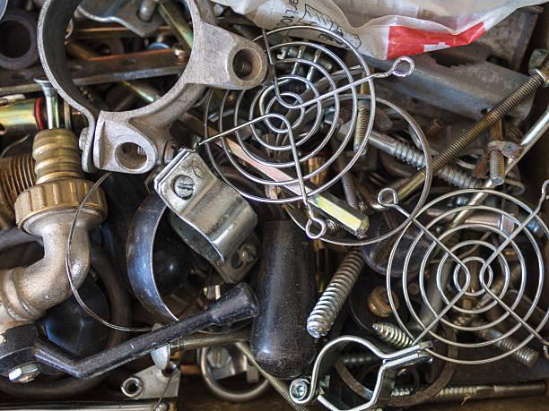 Riciclo Metallo - foto stock