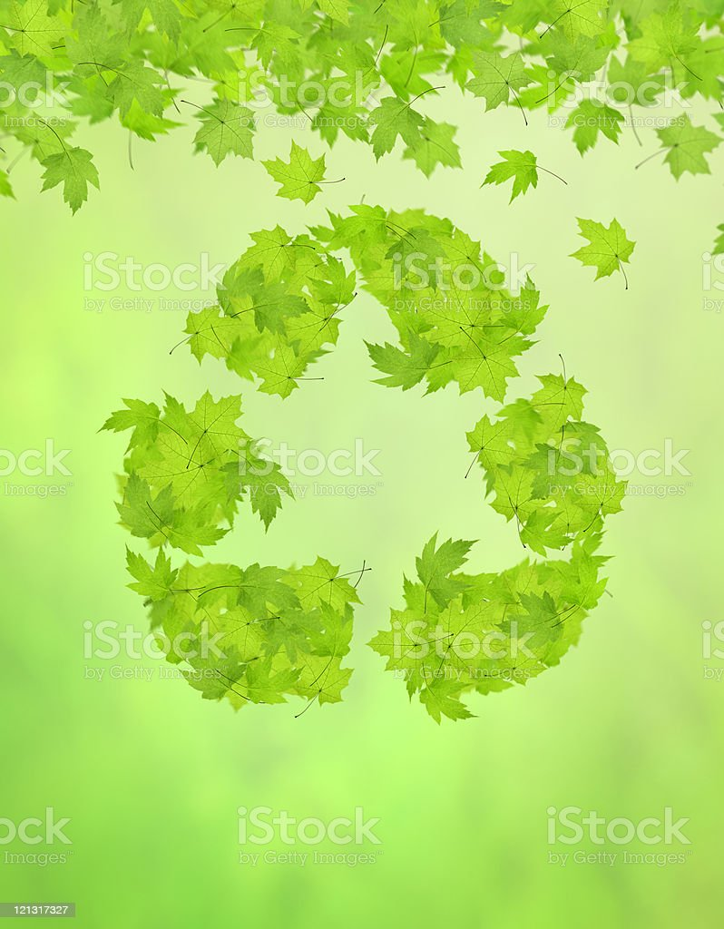 Recycle (XXL) royalty-free stock photo