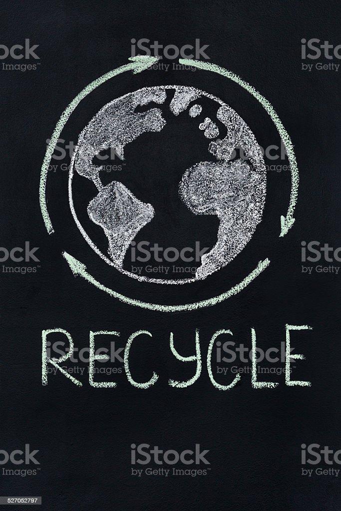 Recycle stock photo