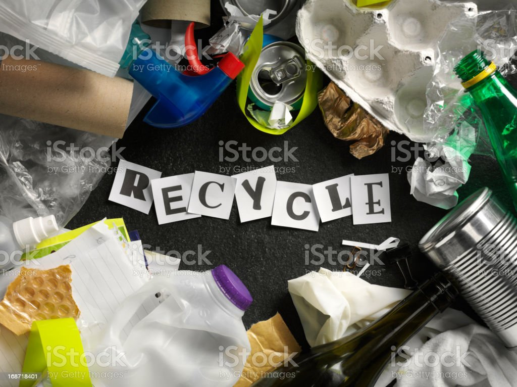 Recycle Rubbish royalty-free stock photo